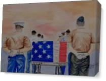 Remember The Fallen As Canvas