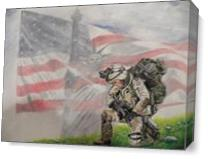 Thank God For Our Military As Canvas