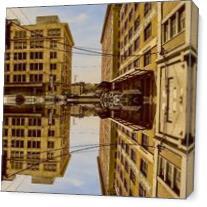234 10th Street As Canvas