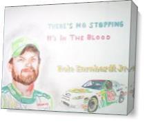 Dale Jr Colored Pencil As Canvas