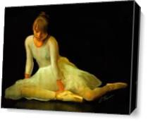 Dancing Doll As Canvas