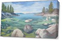 Winter Cove As Canvas