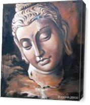 Buddha As Canvas