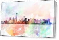 Skyline As Canvas