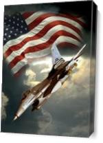 American Airforce As Canvas