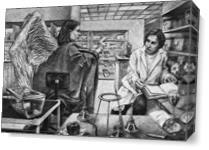 Annunciation As Canvas