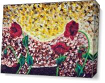 Poppies Beauty 4 As Canvas