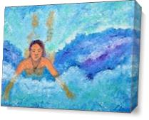 Waves Of Relaxation As Canvas