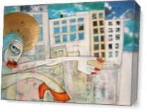 Napoli, Importanti Sono I Fiori As Canvas