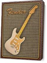 Fender Stratocaster Classic Player As Canvas