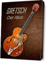 Gretsch  Chet Atkins As Canvas