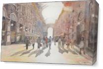 Galleria Vittorio Emanuele II, Milan As Canvas