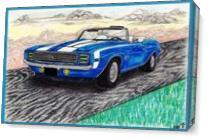 Chev Camaro As Canvas