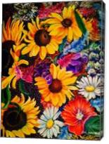 Sunflowers - Gallery Wrap