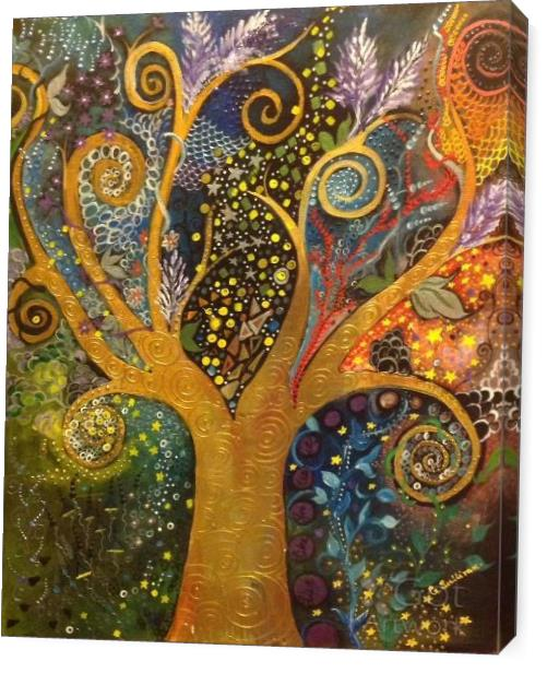 A Tree Of Life with Spirals