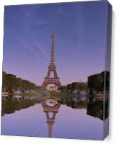 Eiffel Tower As Canvas