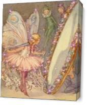 Fairy Mirror Photo As Canvas
