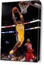 Kobe Bryant 2 As Canvas