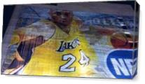 Kobe Bryant Lakers House As Canvas