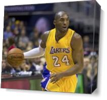 Kobe Bryant 3 As Canvas