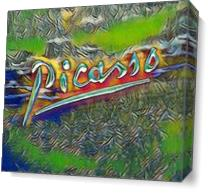 Picasso S Signature2 As Canvas
