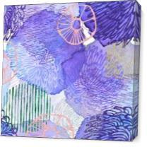 Purple As Canvas
