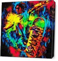 Skater As Canvas