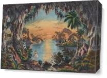 The Fairy Grotto Picture As Canvas