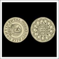 Vintage 1776 Continental Currency - No-Wrap