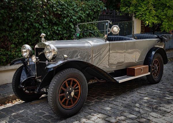 Vintage Donnet Zedel Automobile