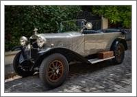 Vintage Donnet Zedel Automobile - No-Wrap