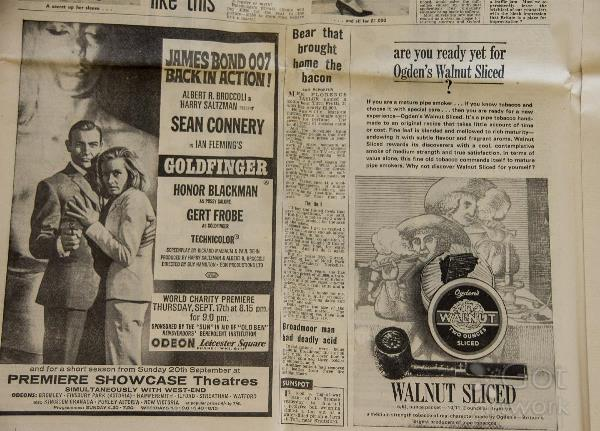 vintage-james-bond-newspaper-advertisement