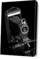 No. 2-C Kodak Jr Vintage Camera As Canvas