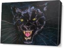 Midnight Hunter As Canvas
