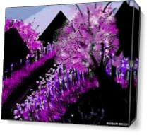 Purple Passion As Canvas