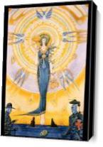 Blueangel As Canvas