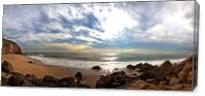 Malibu Beach  As Canvas