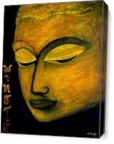 Phutto Buddha As Canvas