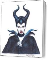 Maleficent Once Upon A Dream. As Canvas