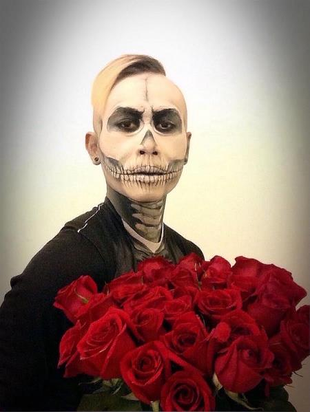 Skull Tux And Roses