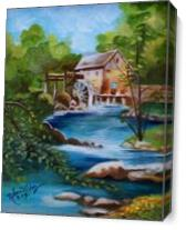 The House In The Forest As Canvas