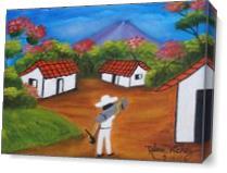 El Salvador As Canvas