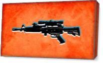 Gun 2 As Canvas