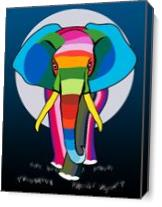 Elephent As Canvas