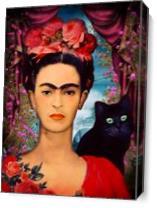 Frida Kahlo As Canvas