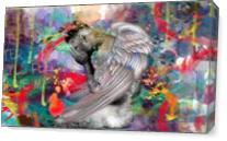 Angel Man 2 As Canvas
