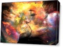 The Kiss 2 As Canvas