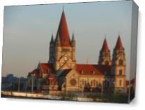 Vienna Church As Canvas