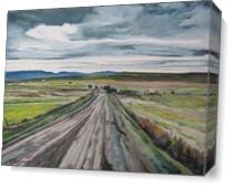 The Gravel Road As Canvas