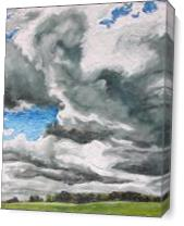 The Wind In The Clouds As Canvas